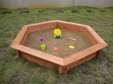 Swing Town Hexagonal Shape, Cedar With Cover
