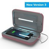 PhoneSoap UV Cell Phone Sanitizer and Dual Universal Cell Phone Charger