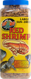 Zoo Med Sun-Dried Red Shrimp Turtle Treats