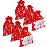 Gift Boutique Giant Reusable Christmas Bags, 6 Piece
