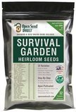 Open Seed Vault Survival Garden 15,000 Non-GMO Heirloom Vegetable Seeds, 32 Variety Pack