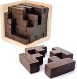 Sharp Brain Zone Wooden Brain Teaser Puzzle