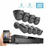 Amcrest HD 1080-Lite 8CH Video Security Camera System