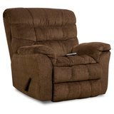 Simmons Aegean Heat & Massage Rocker Recliner