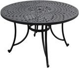 Crosley Furniture Solid Cast Aluminum Outdoor Dining Table