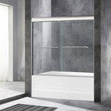 Woodbridge Bath Semi-Framed Bypass Sliding Shower Door