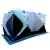 Elkton Outdoors 3-4 Person Insulated Single Hub Ice Fishing Shelter