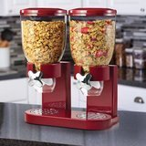 Zevro Double 2 Container Cereal Dispenser