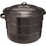 Granite Ware 21.5-Quart Steel Water Bath Canner 9-Piece Kit