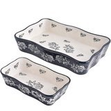 Kingsbull Home 2-Piece Ceramic Bakeware Set