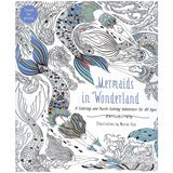 Harper Design Mermaids in Wonderland: A Coloring and Puzzle-Solving Adventure for All Ages