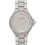 Michael Kors Camile Crystal Pave Dial Encrusted Ladies Watch