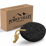 Pumice Valley Natural Earth Lava Pumice Stone Black