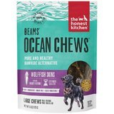 The Honest Kitchen Beams Ocean Chews Wolffish Skins Dehydrated Dog Treats