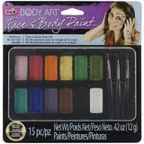 Tulip Body Art Face & Body Paint Kit – Rainbow Colors