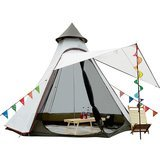 Vidalido 5-6 Person Conical Camping Tent