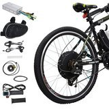 "Voilamart E-bike Conversion Kit 26"" Front Wheel 36V 500W"