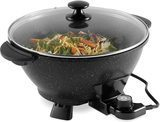 VonShef 7.4-Quart Electric Wok with Lid